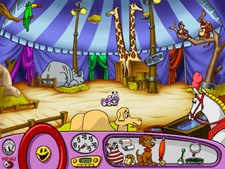 Putt-Putt Joins the Circus Screenshot 1