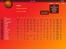 World Basketball Manager 2010 Screenshot 2